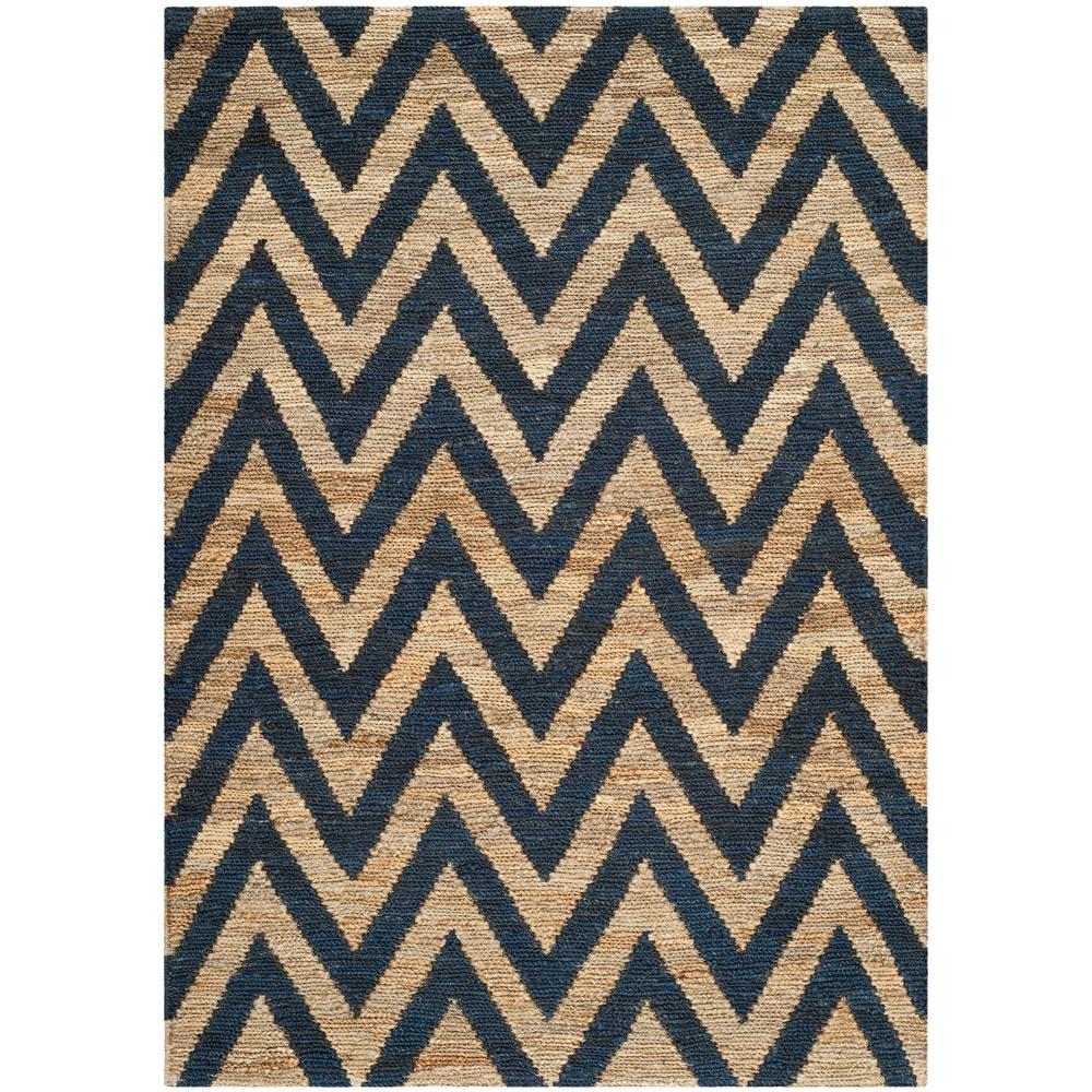 Safavieh Organica Blue/Natural 4 ft. x 6 ft. Area Rug