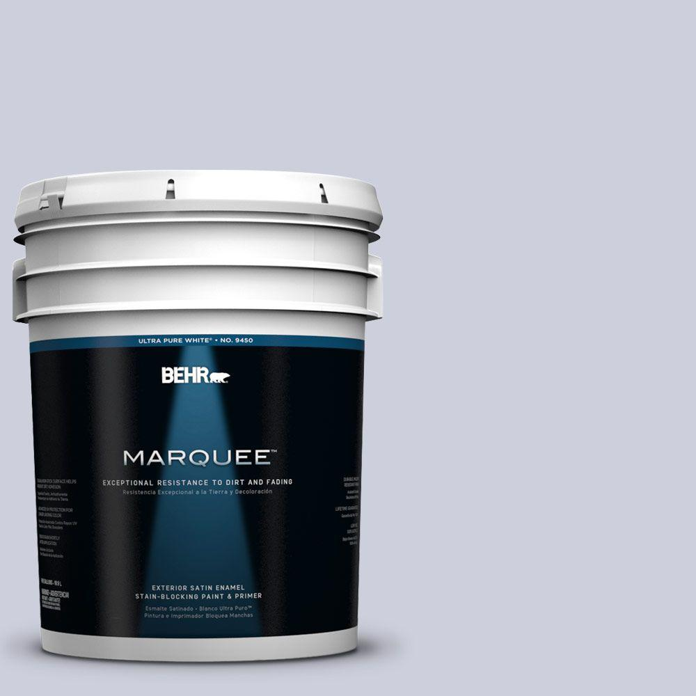 BEHR MARQUEE 5-gal. #640E-3 Simplicity Satin Enamel Exterior Paint