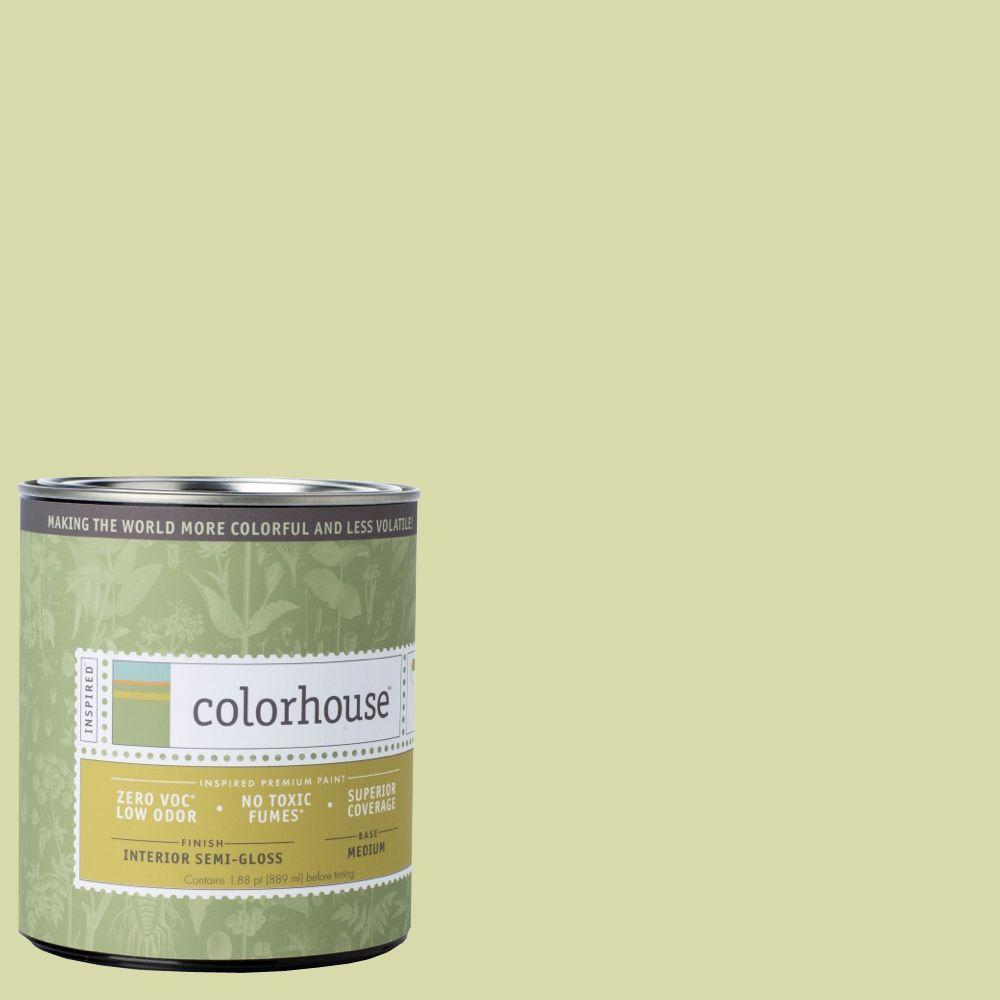 Colorhouse 1-qt. Thrive .01 Semi-Gloss Interior Paint-683613 - The Home Depot