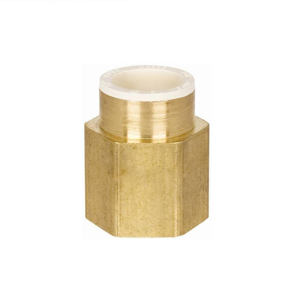 Sioux Chief 3/4 in. Lead Free Brass Slip x FIP Adapter