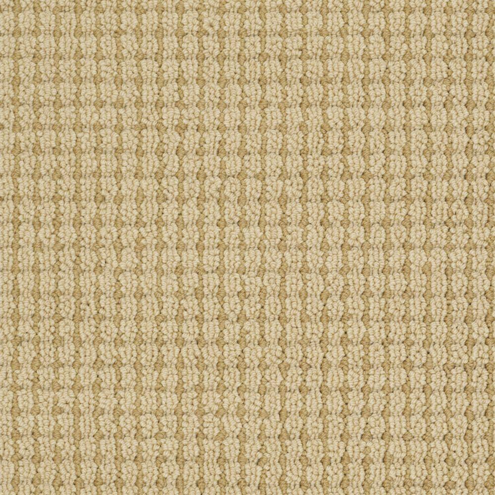 Martha Stewart Living Gloucester Hill - Color Burlap 6 in. x 9 in. Take Home Carpet Sample