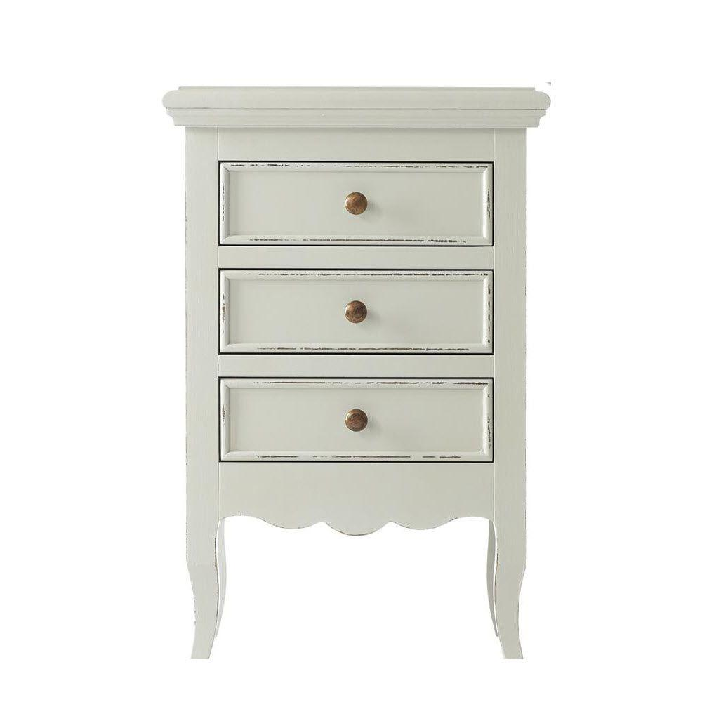 Home Decorators Collection Roma Kids 3-Drawer Nightstand in Damadio