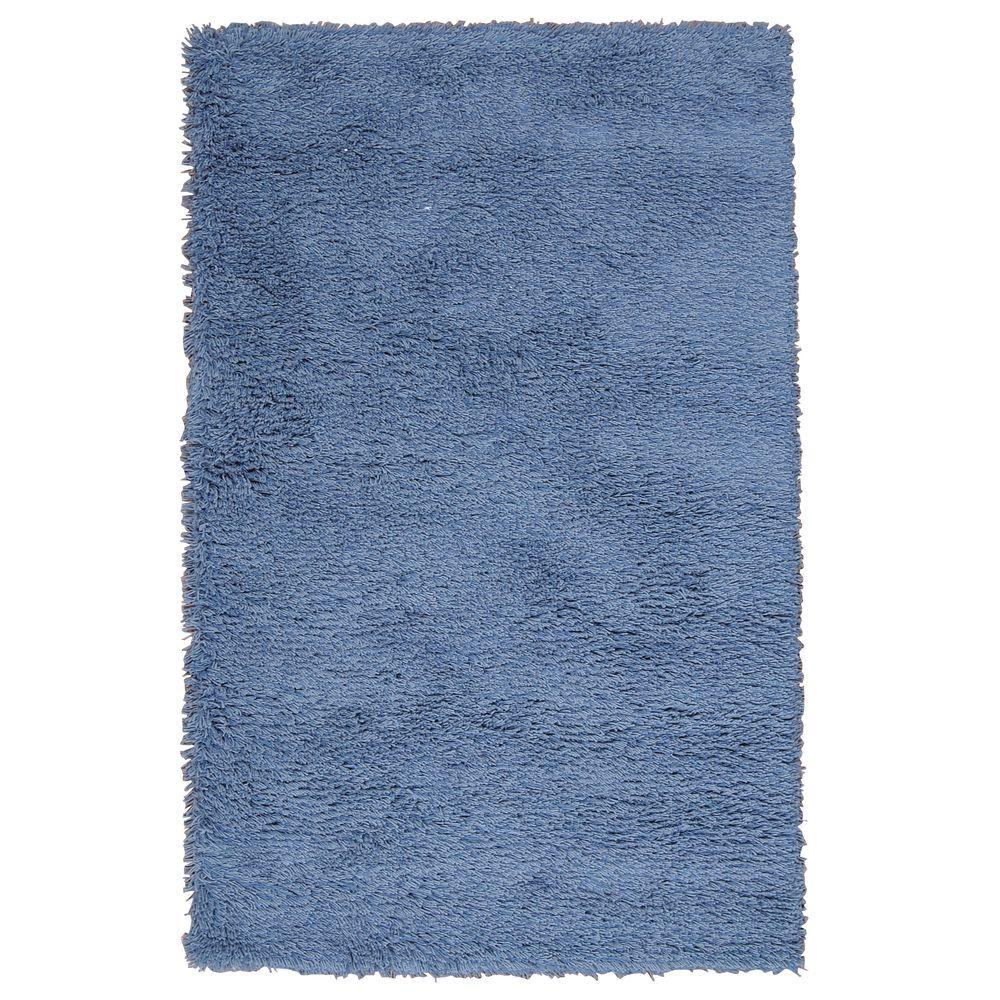 Nourison Overstock Coral Reef Blue 2 ft. 6 in. x 4