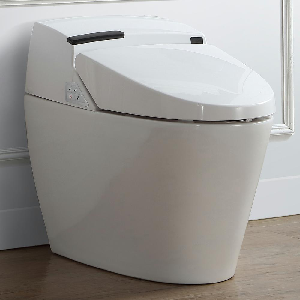 Ove Decors Smart 1 Piece 1 6 Gpf Elongated Toilet And
