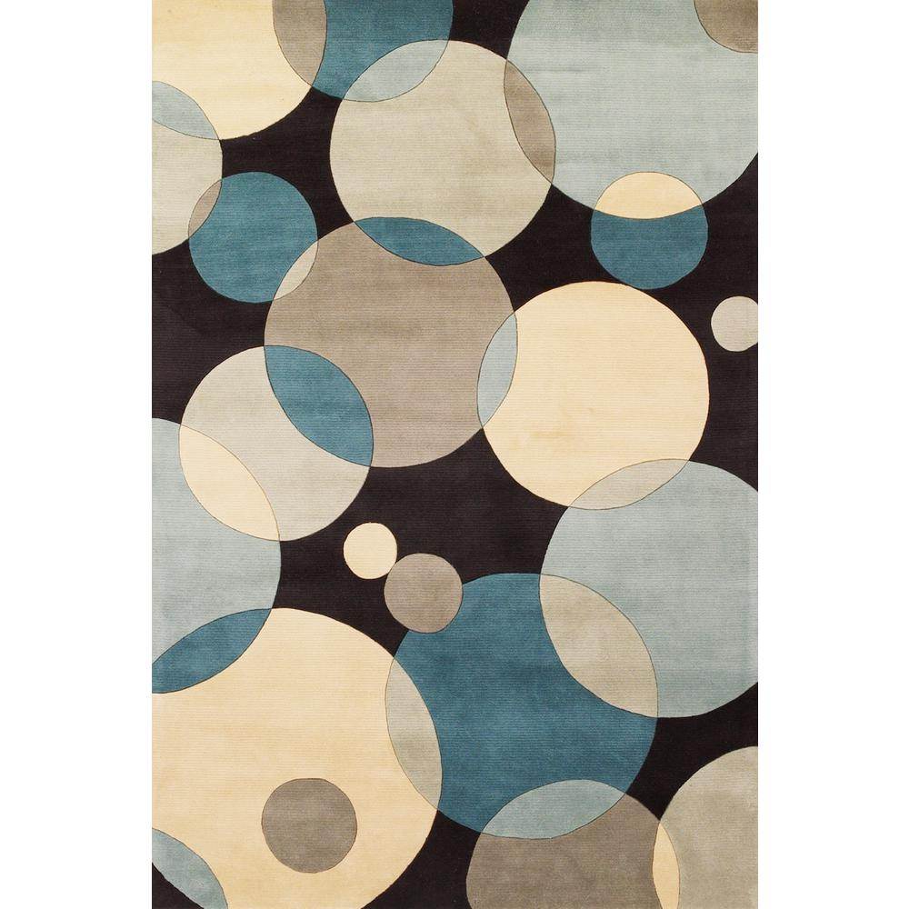 Contempo Teal 3 ft. 6 in. x 5 ft. 6 in.
