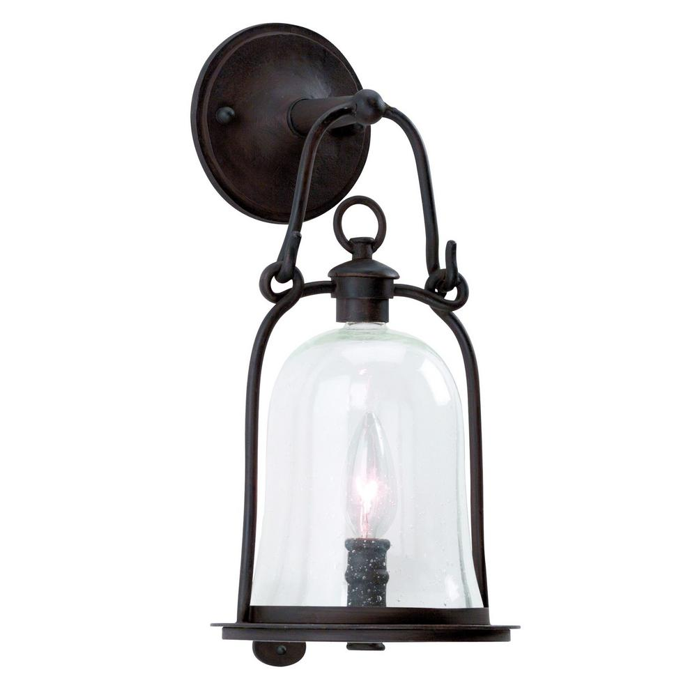 Troy Lighting Owings Mill Natural Bronze Outdoor Wall Mount Lantern-B9461NB -