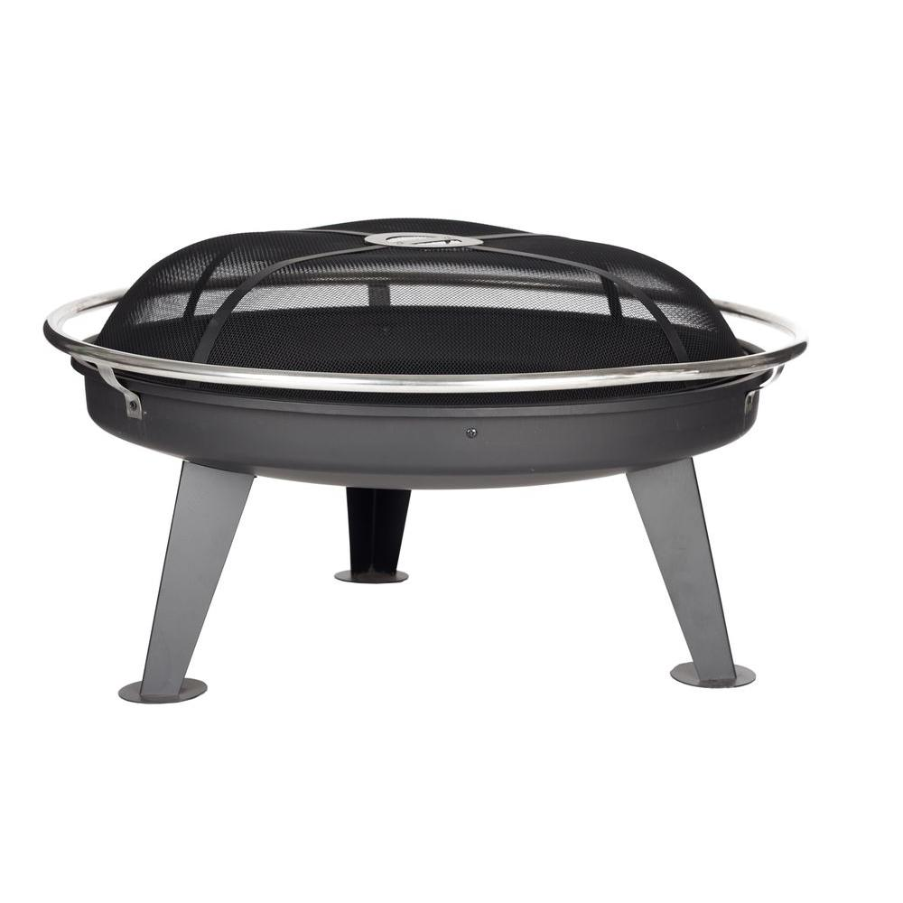 Fire Sense Fire Pit with Safety Ring-DISCONTINUED