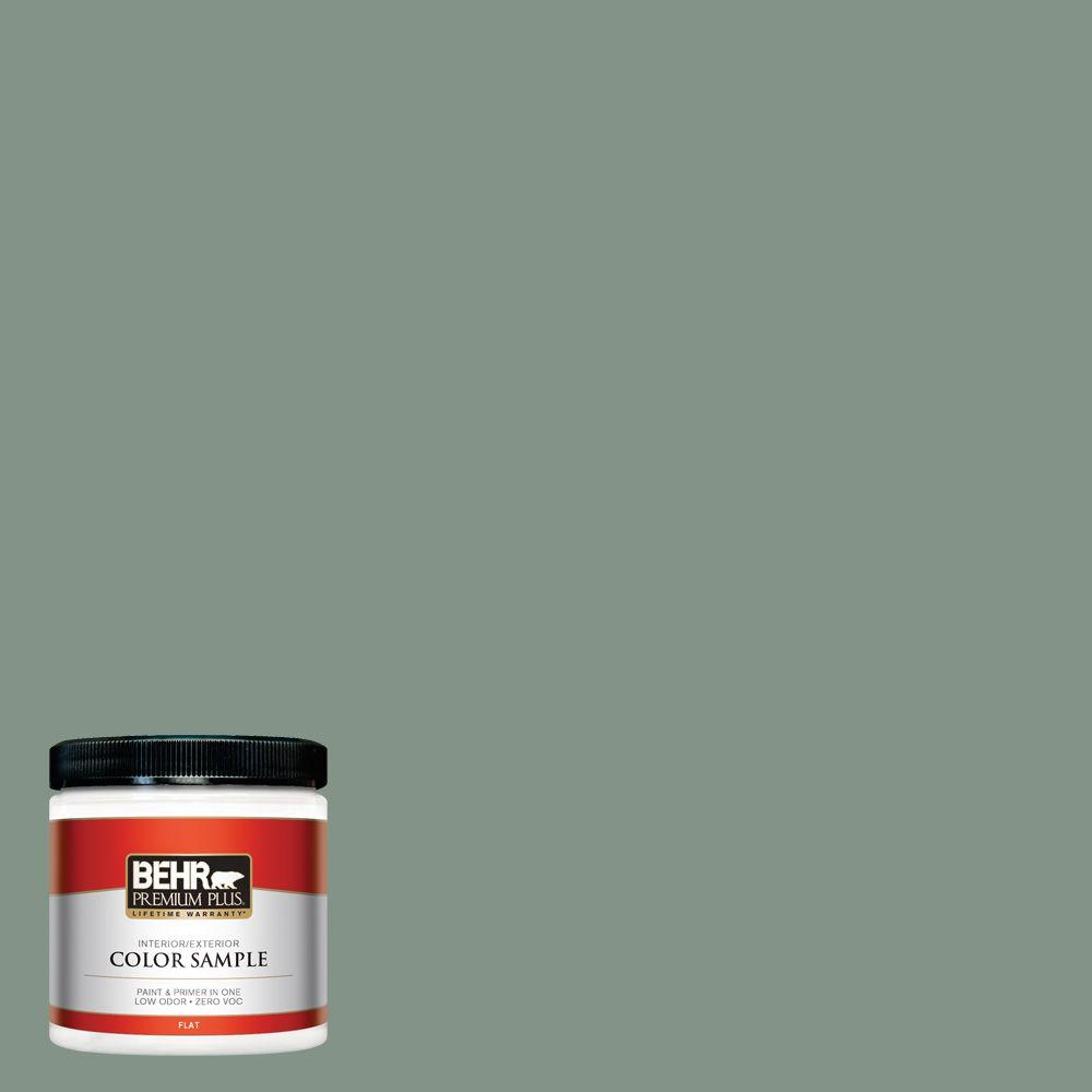 8 oz. #460F-4 Wethersfield Moss Interior/Exterior Paint Sample