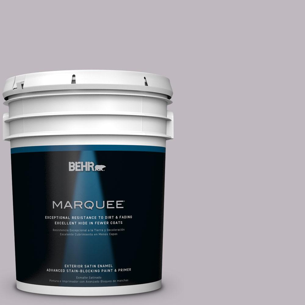 BEHR MARQUEE 5-gal. #N570-2 Standing Ovation Satin Enamel Exterior Paint