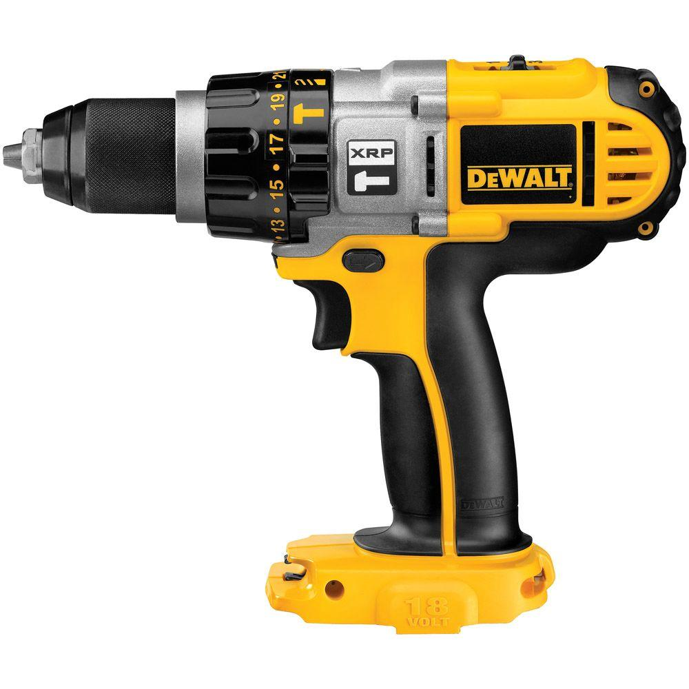 18-Volt XRP 1/2 in. Cordless Hammer Drill/Driver (Tool-Only)