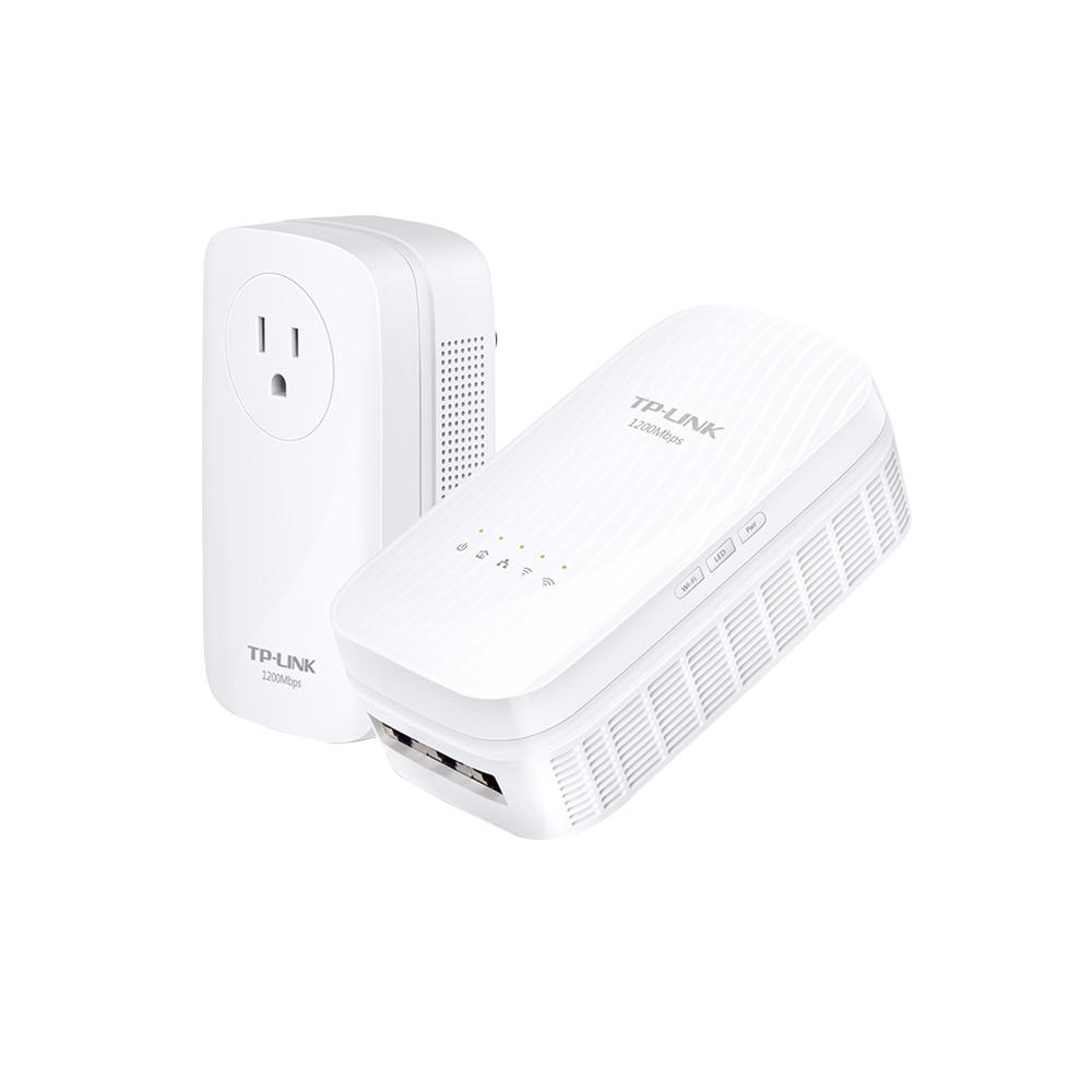 AC1750 Wi-Fi Range Extender and Powerline Edition