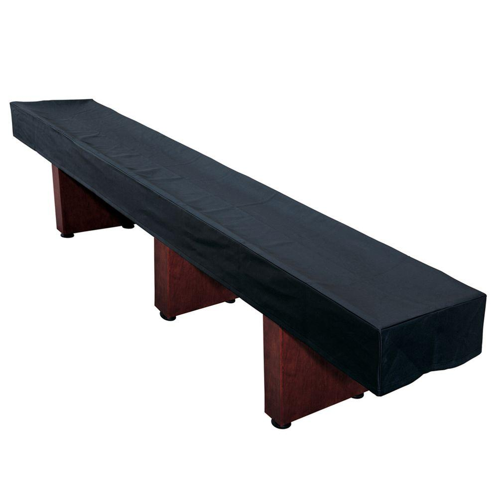 Hathaway 14 ft. Shuffleboard Table Black Cover