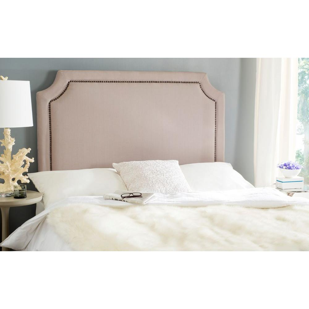 Shayne Full Headboard in taupe (Brown)