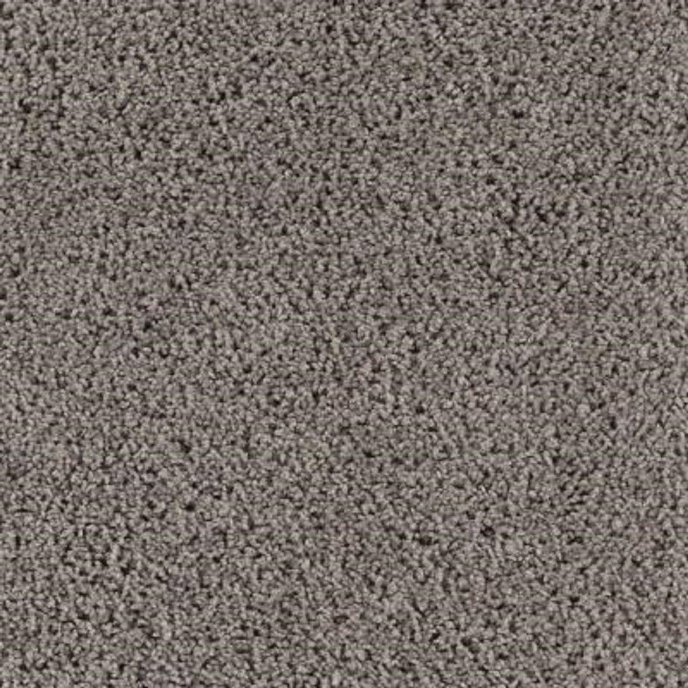 Carpet Sample - Ashcraft II - Color Deep Slate Texture 8 in. x 8 in.