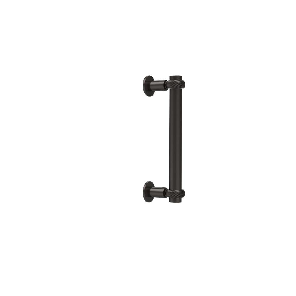 Contemporary 8 in. Back to Back Shower Door Pull in Oil