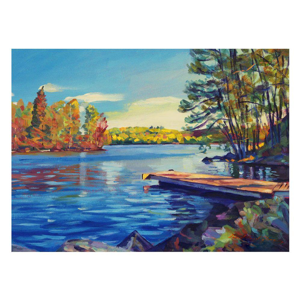 24 in. x 32 in. End of Summer Canvas Art