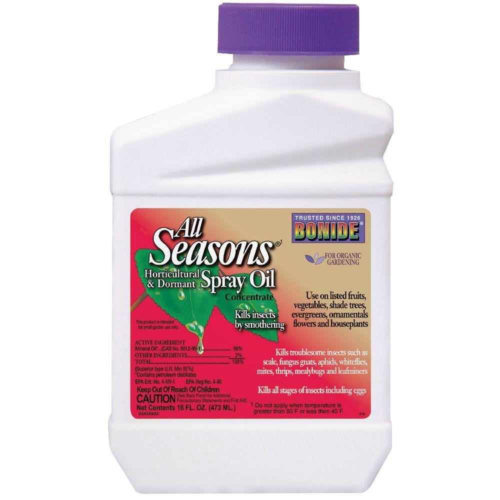 Bonide 1 Pt. Concentrate All Seasons Oil Spray Insecticide-210 - The