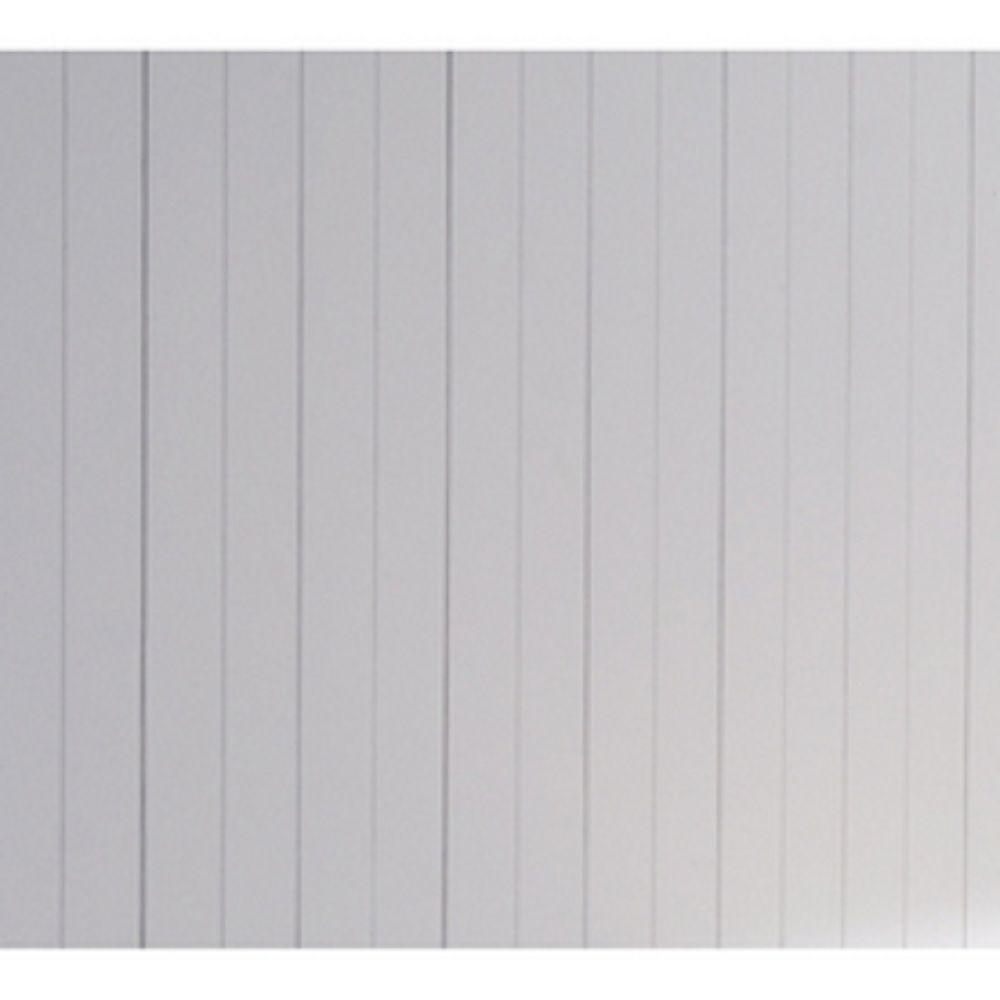 9-3/8 sq. ft. Cape Cod MDF V-Groove Wainscot Plank Paneling