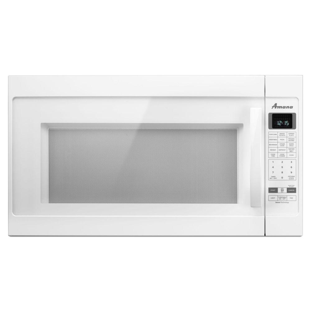 2.0 cu. ft. Over the Range Microwave in White with Sensor