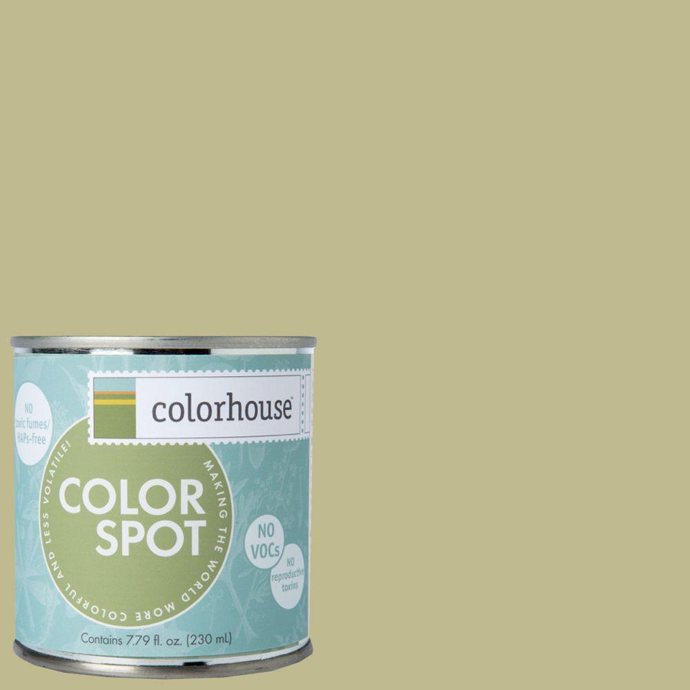 Colorhouse 8 oz. Leaf .02 Colorspot Eggshell Interior Paint Sample-862427 -