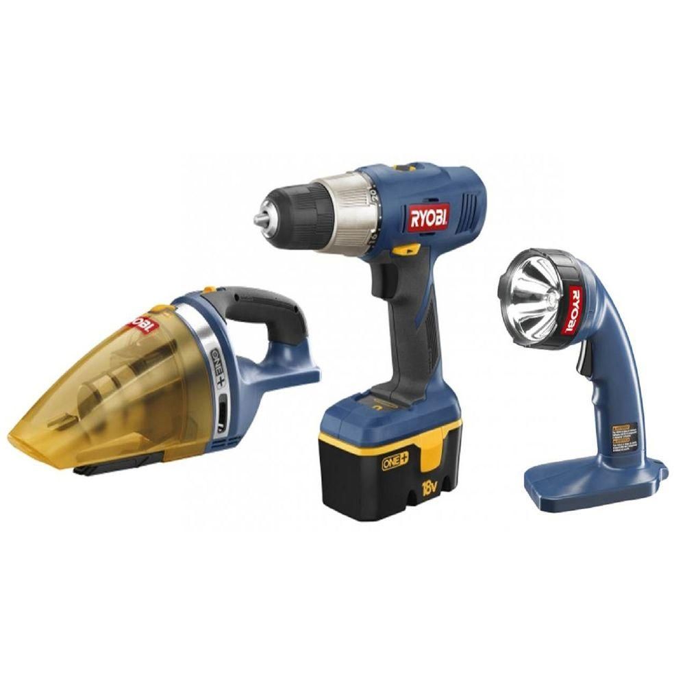18-Volt NiCad Combo Kit (3-Tool)