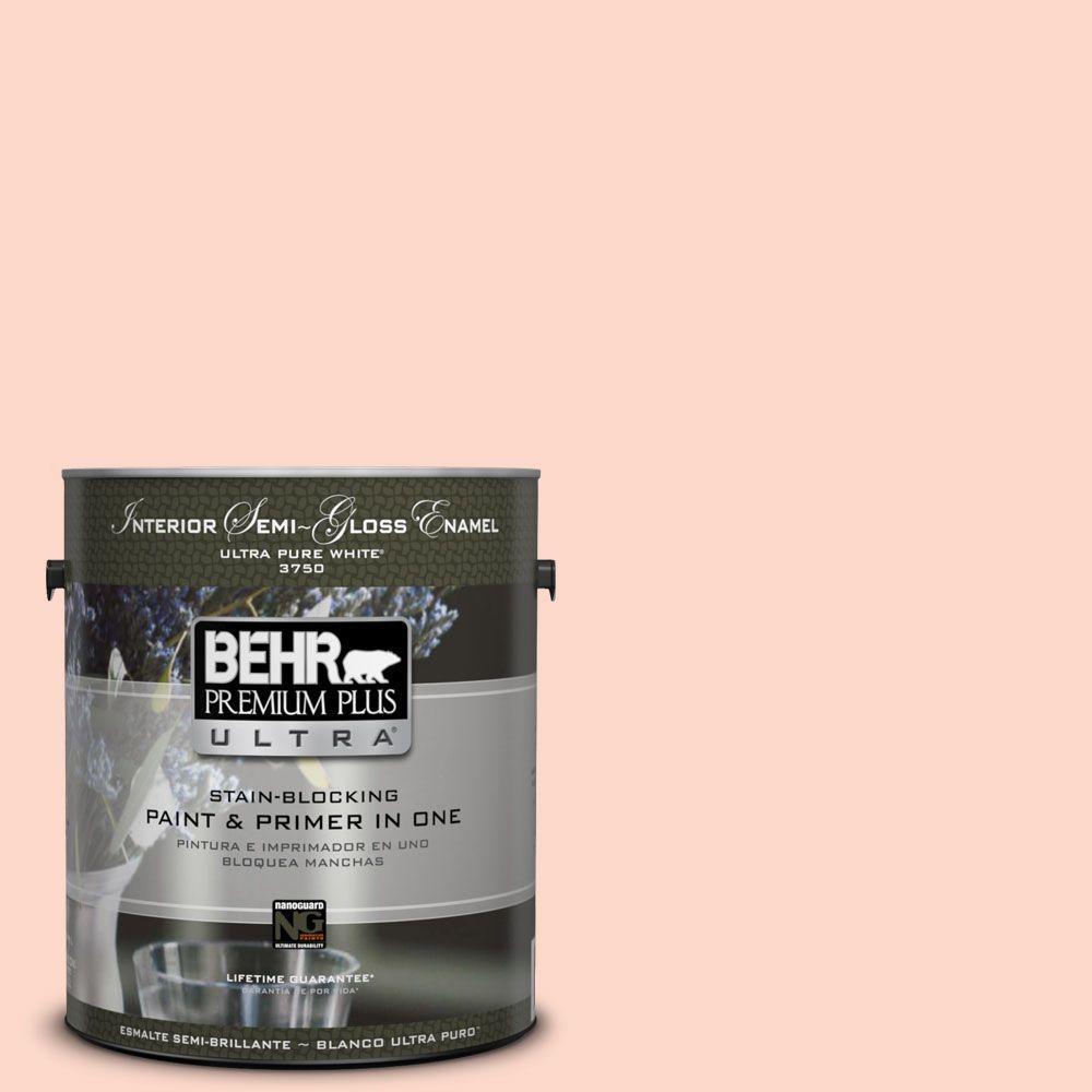 BEHR Premium Plus Ultra 1-gal. #240C-2 Heavenly Song Semi-Gloss Enamel Interior
