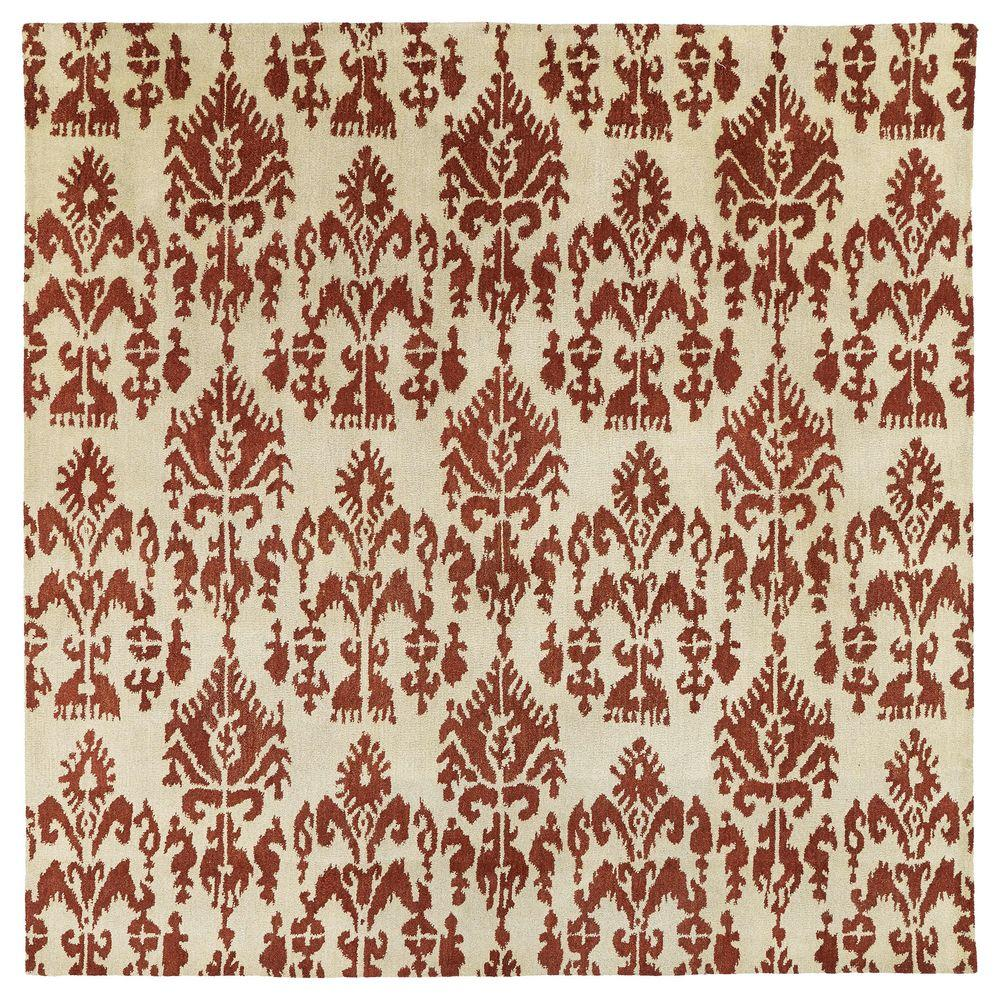 Kaleen Soho Southampton Linen 7 ft. 9 in. x 7 ft. 9 in. Square Area Rug-2502-42 7.9x7.9 - The ...