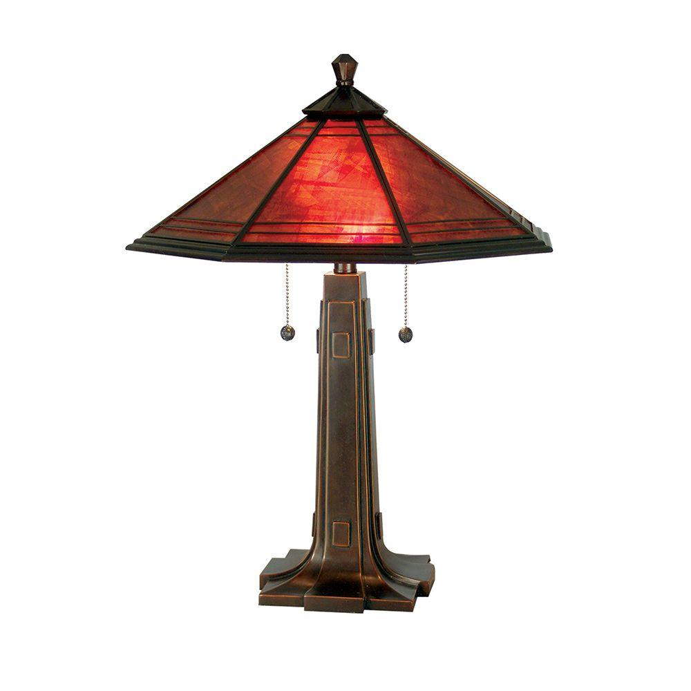 24.25 in. Camillo Antique Golden Sand Table Lamp