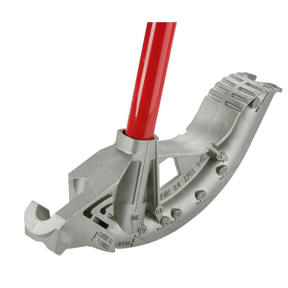 BigBen Aluminum Bender with Handle, 3/4 in. EMT and 1/2 in.