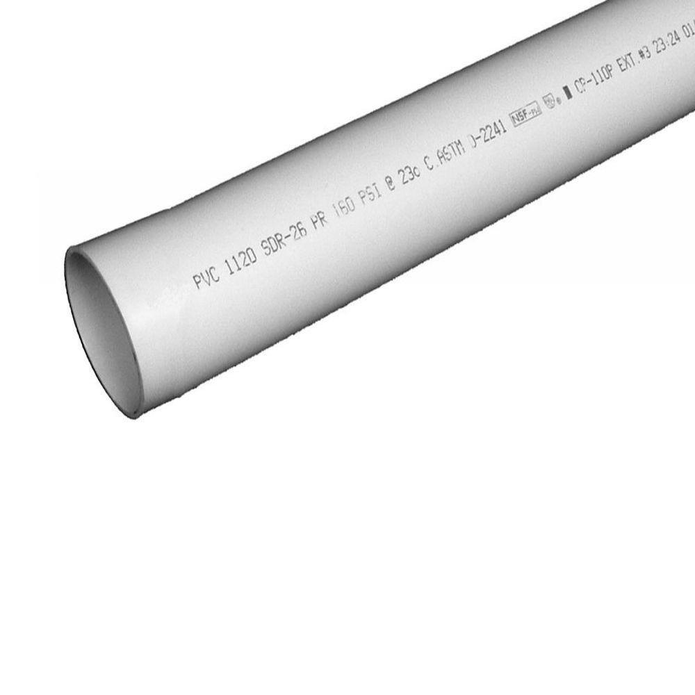 1 in. x 10 ft. Plastic Plain End Pipe