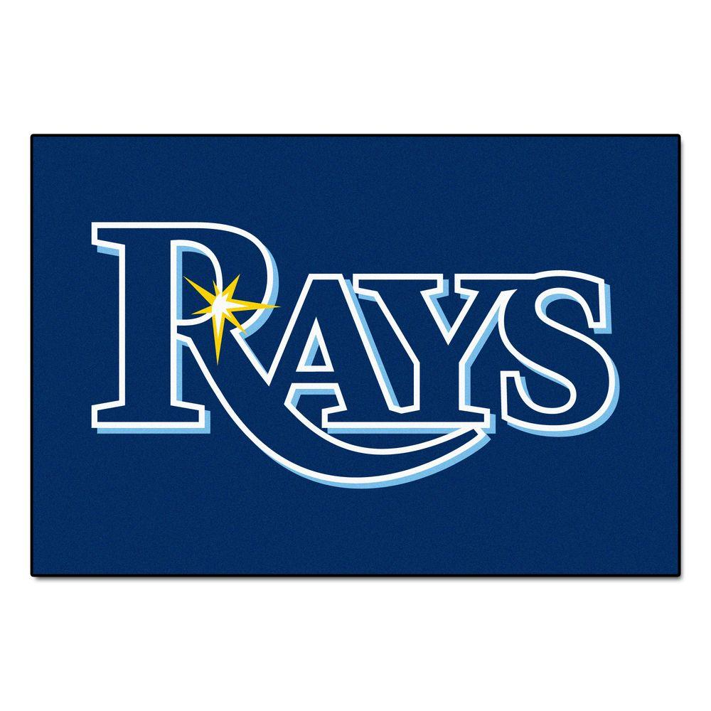 Tampa Bay Rays 19 in. x 30 in. Accent Rug