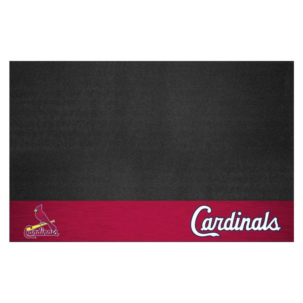 FANMATS St. Louis Cardinals 26 in. x 42 in. Grill Mat-12169