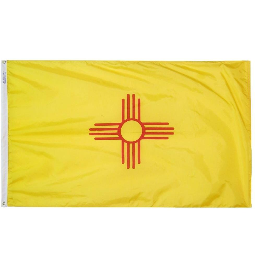 Annin Flagmakers 3 ft. x 5 ft. New Mexico State Flag