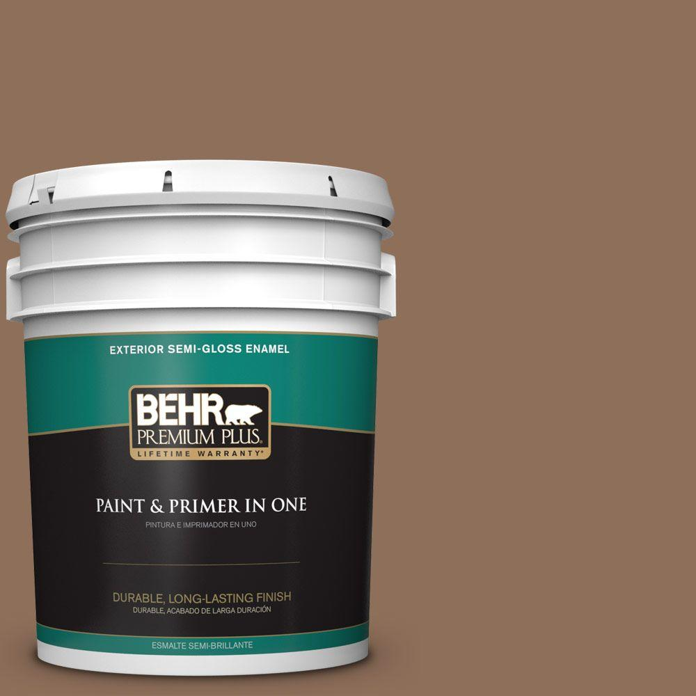 5-gal. #250F-6 Pepper Spice Semi-Gloss Enamel Exterior Paint