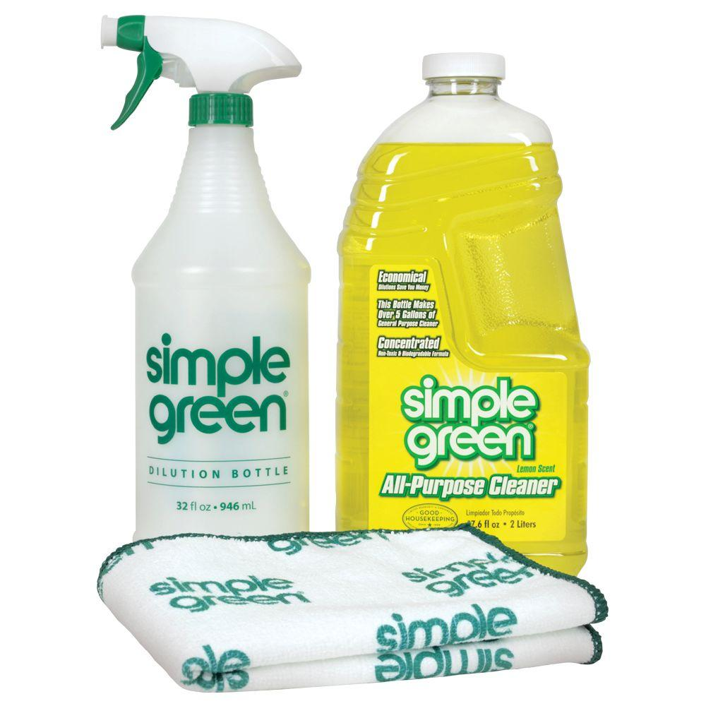 Lemon Scent 2l oz. Daily Cleaning Kit