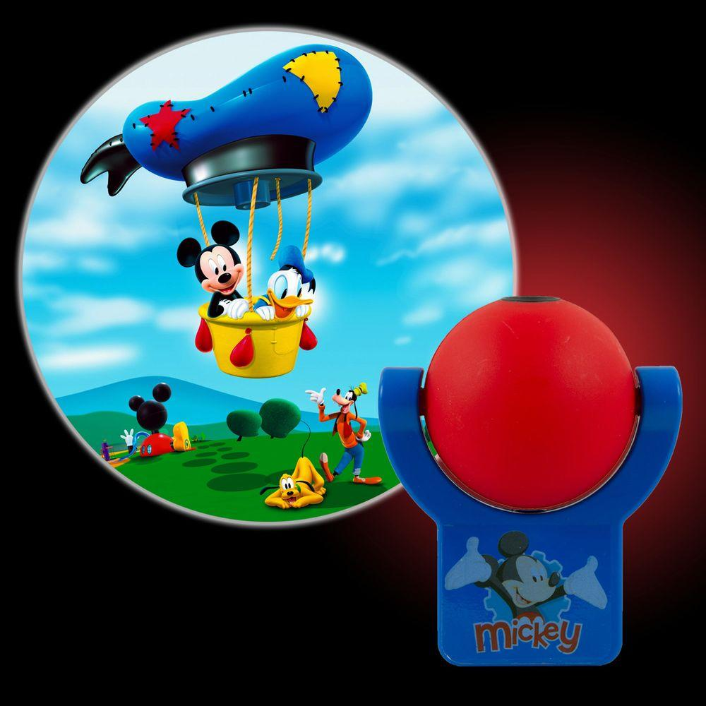 Projectables Disney Mickey Mouse Club House Plug-In LED Night Light