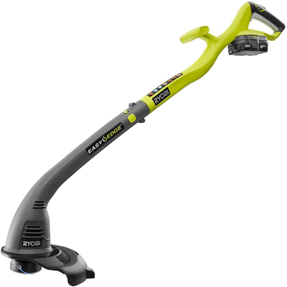 Ryobi Reconditioned One+ 18-Volt Lithium-Ion Cordless Electric String Trimmer and Edger