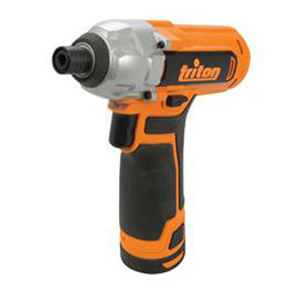 Triton 12-Volt Lithium-Ion 1/4 in. Cordless Impact Driver-T12ID - The Home