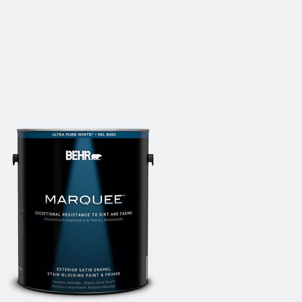 BEHR MARQUEE 1-gal. #610E-1 Windmill Wings Satin Enamel Exterior Paint