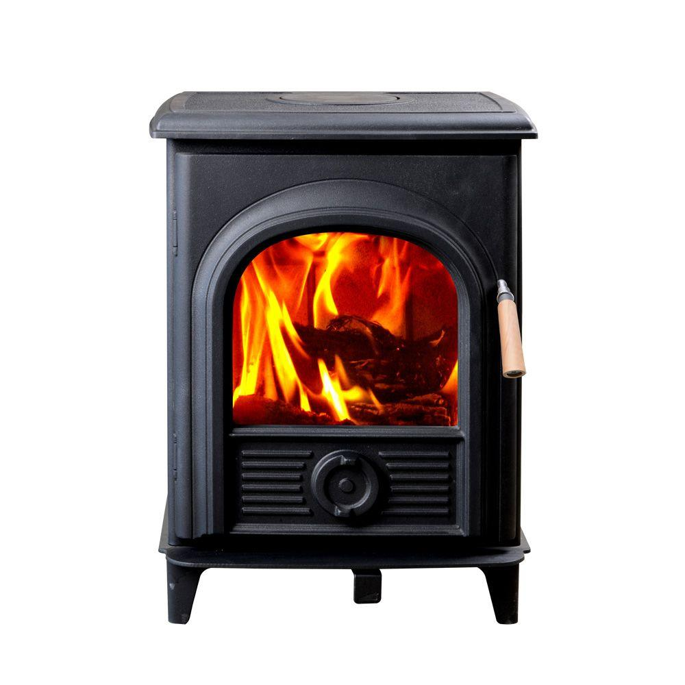 Shetland Extra Small Wood-Burning Stove - Hi Flame 800 Sq. Ft. Shetland Extra Small Wood-Burning Stove-HF
