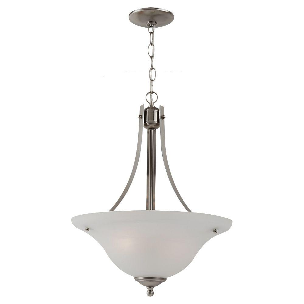 Windgate 2-Light Brushed Nickel Pendant