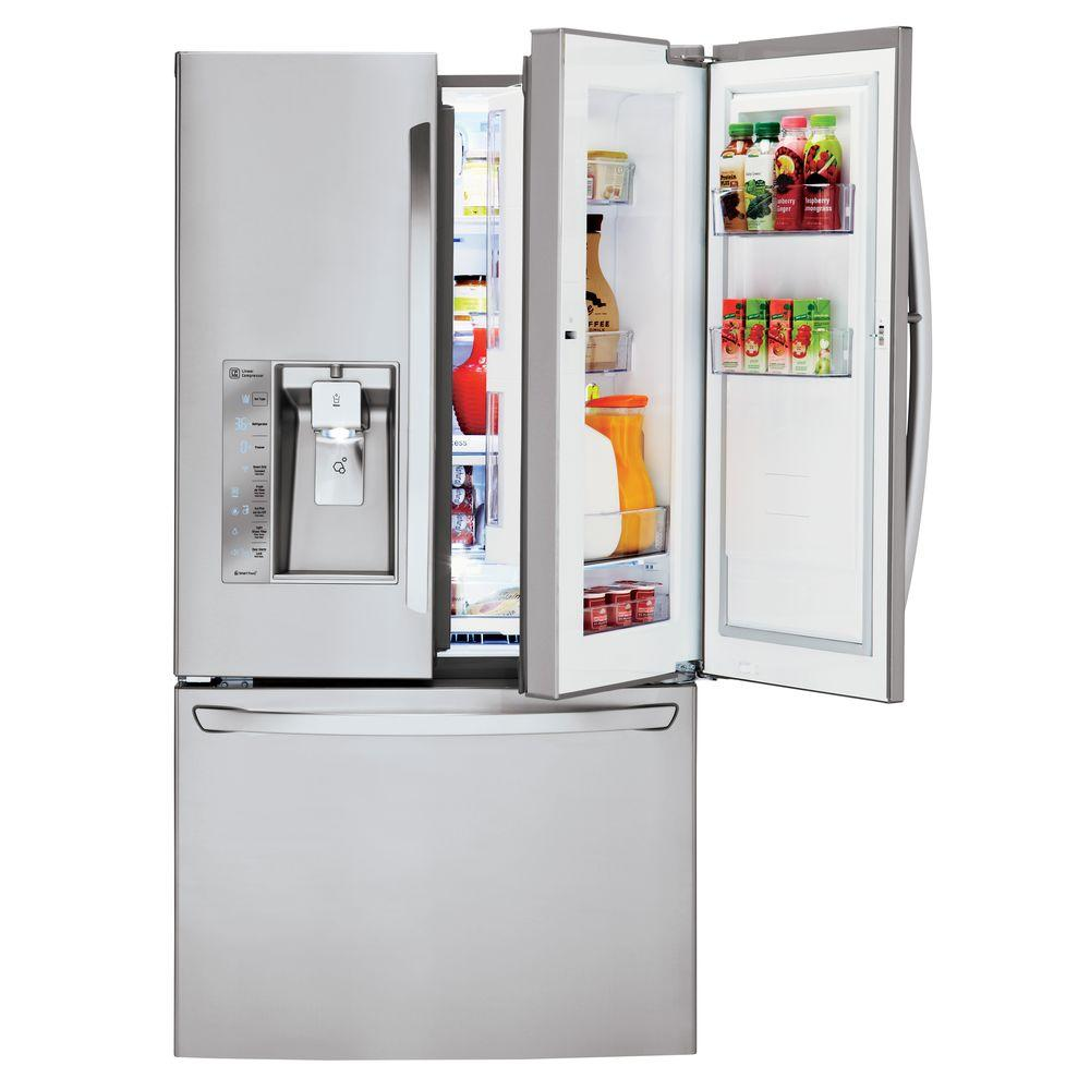 Lg Electronics 30 Cu Ft French Door Refrigerator With
