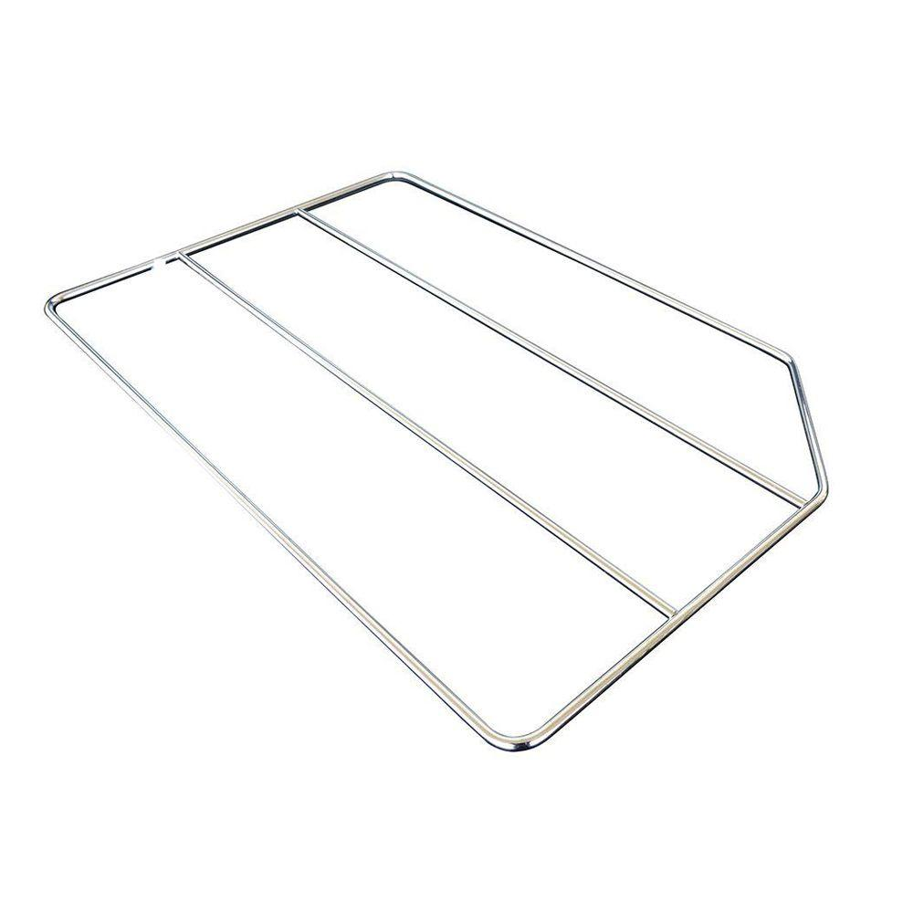 Home Decorators Collection 20x0.25x18 in. Tray Divider in Gloss Chrome-TD18CR -