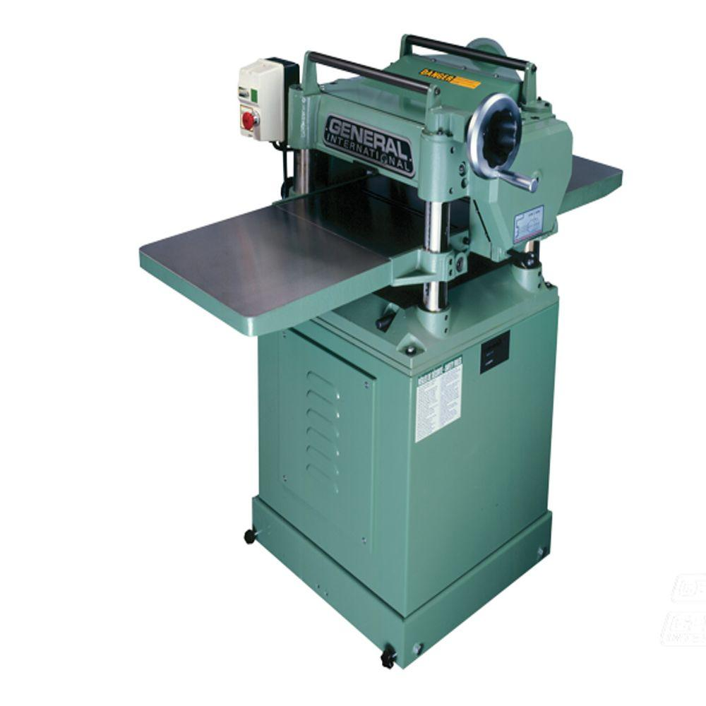 15 in. Single Surface Planer with Cast Extension