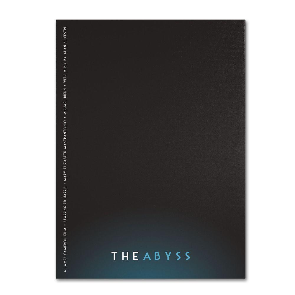 22 in. x 32 in. The Abyss Canvas Art
