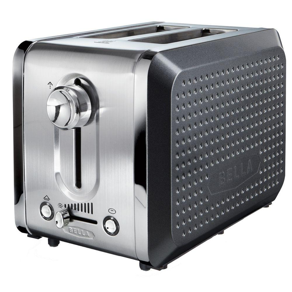 Bella Dots 2 Slice Toaster in Grey-DISCONTINUED