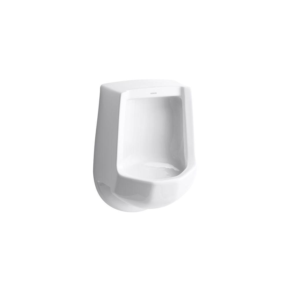 KOHLER Freshman Urinal With Rear Spud in White-K-4989-R-0 - The Home
