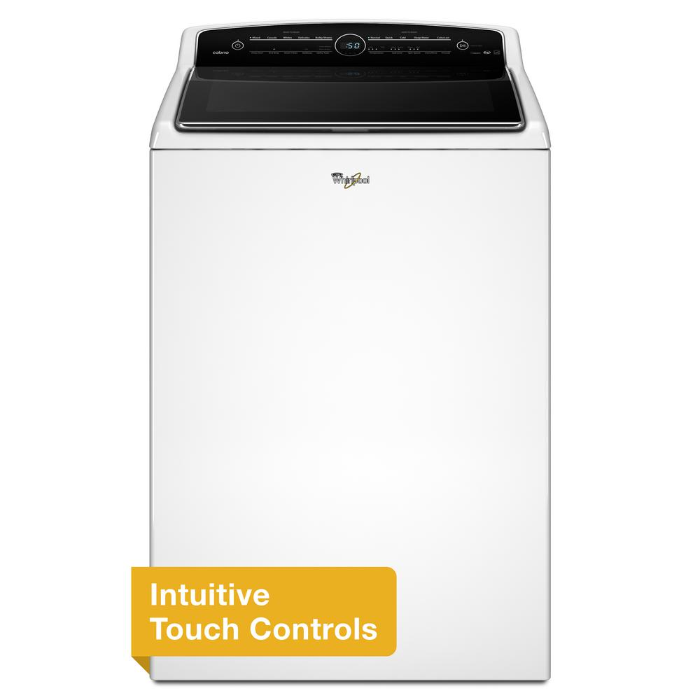 Cabrio 5.3 cu. ft. High-Efficiency Top Load Washer with Steam in