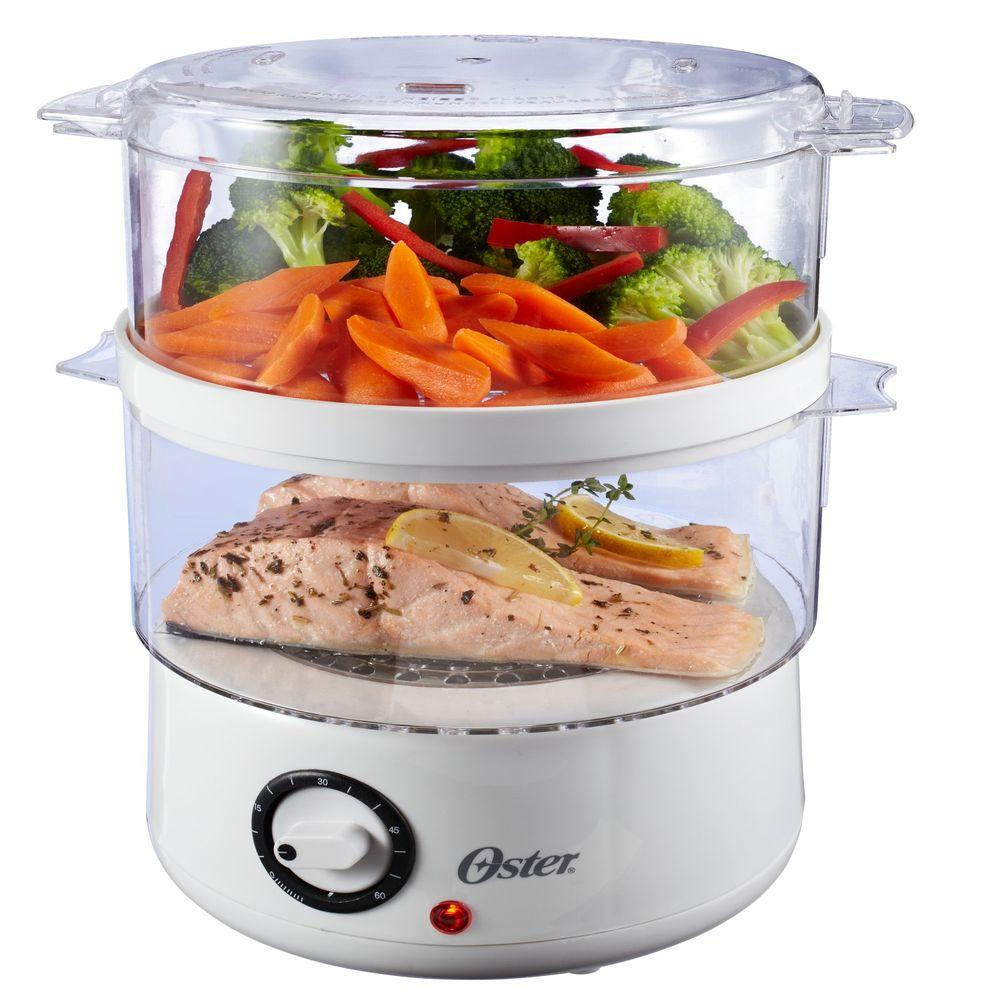 5 Qt. Food Steamer in White