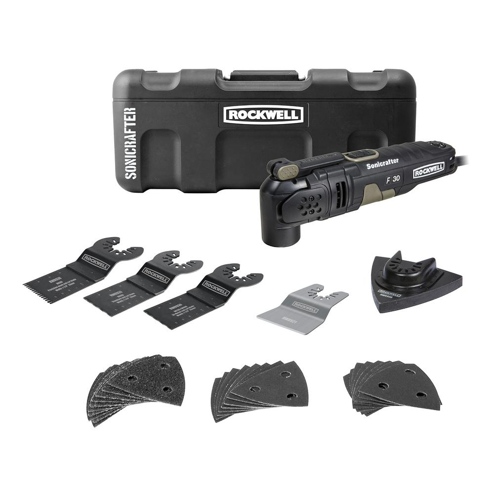 Rockwell 3.5 Amp Sonicrafter F30 Kit (32-Piece)